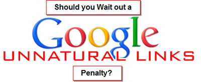 Google Unnatural Links Penalty Graphic