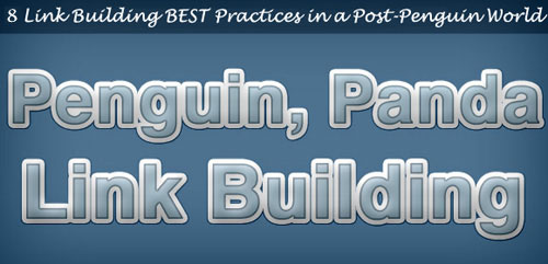Post-Penguin Link Building Best Practices Graphic