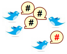 Twitter Hashtags Graphic