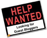 Help Wanted Guest Blogging Graphic