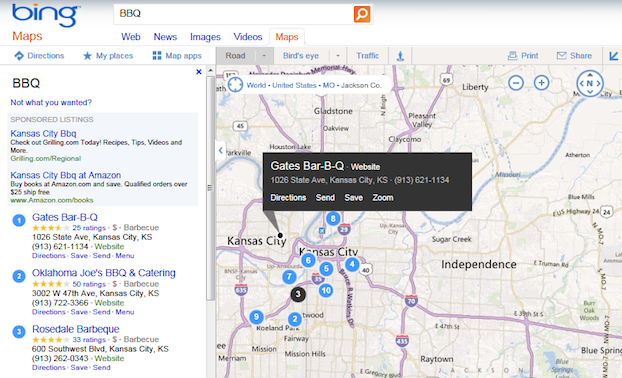 Small Tweaks Done to Bing Maps · SearchEngineNews.com