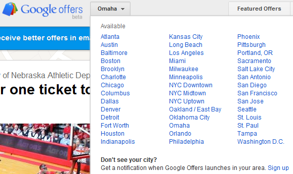 Google Offers Giving Groupon Some Real Competition