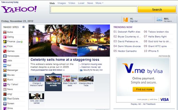 Yahoo dating Visa